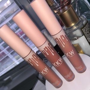 KKW by Kylie Jenner Creme Liquid Lipsticks